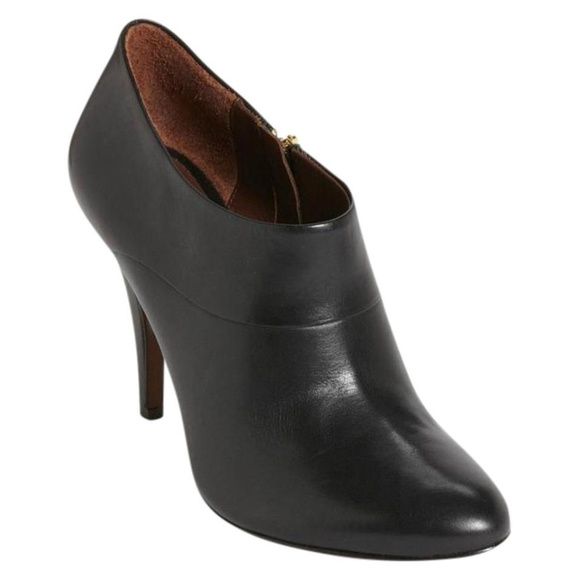 Aerin Shoes - NEW Aerin Pembroke Black Leather Ankle Boots
